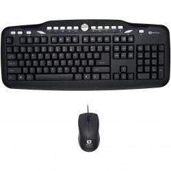 Kit tastatura + mouse optic Serioux SRX-MKM5500, USB, negru