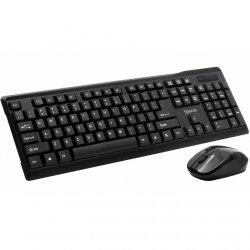 Kit wireless tastatura si mouse Spacer SPDS-1100, Negru