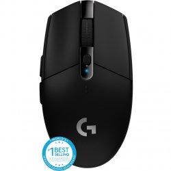 Mouse gaming wireless Logitech G305 LightSpeed Hero 12K DPI, Negru