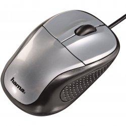 Mouse Optic Hama AM100, USB, Argintiu
