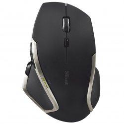 Mouse Trust Evo Advanced, Wireless, Negru