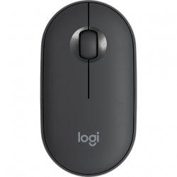 Mouse wireless Logitech Pebble M350, Grafit