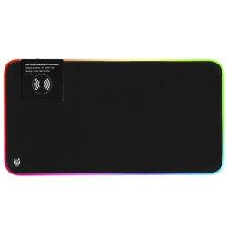 Mousepad Gaming A+ Nuwa, iluminat, incarcare wireles 10W, 800*300*4 mm
