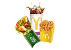 Meniu Crispy Chicken McWrap Maxi image