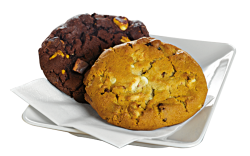 Triple Chocolate Cookie image