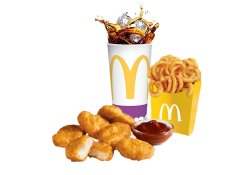 Meniu Chicken McNuggets™ (6 buc.) include 1 sos Maxi image