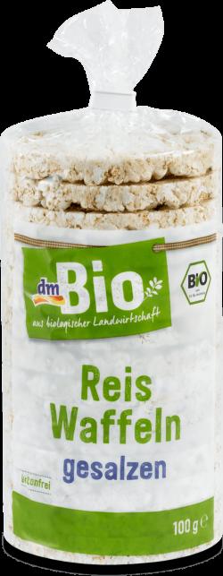 dmBio rondele de orez  sărate ECO 100g image