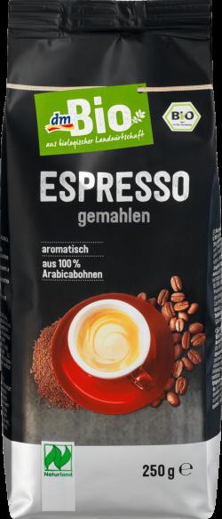 dmBio cafea expresso măcinată ECO 250 g image