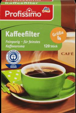 Profissimo filtru pentru cafea nr.4 120buc image