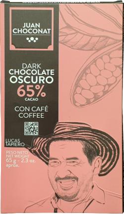Juan Choconat ciocolată cu cafea 65g image