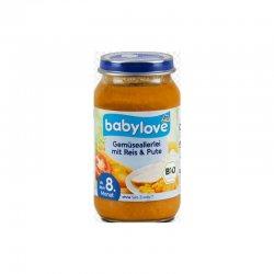 babylove meniu bebe legume&orez 8+ ECO 220gr image