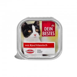 Dein Bestes hrana hrana pentru pisici cu vita 100g image