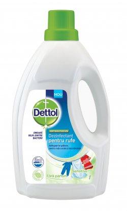Dettol dezinfectant rufe fără parfum 1,5l image