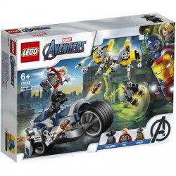 LEGO® Super Heroes - Atacul Razbunatorilor cu motociclete 76142 image