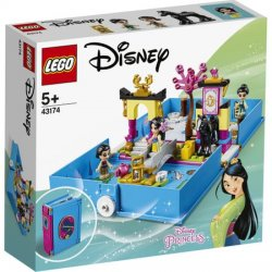 LEGO® Disney Princess - Aventuri din cartea de povesti cu Mulan 43174 image