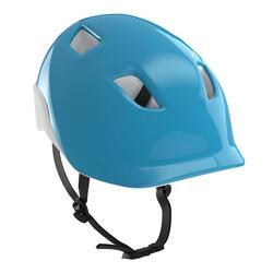 Cască ciclism 100 albastru