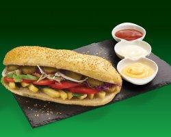 Baghetă vegetariană image