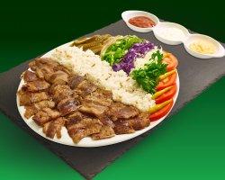Farfurie de vită cu orez - Helal image