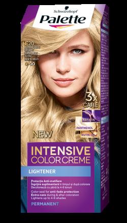 Palette Intensive Color Cream  vopsea de par permanenta E20  blond foarte deschis  1buc