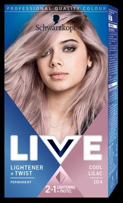 Live Color Vopsea de par permanenta 104 Cool Lilac 1buc