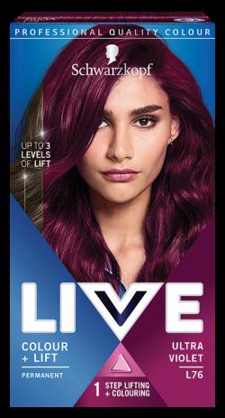 Live Color Vopsea de par permanenta L76 Ultra Violet 1buc