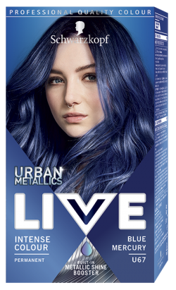 Live Color Vopsea de par permanenta U67 Blue Mercury 1buc