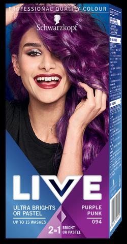 Live Color Vopsea de par semipermanenta 094 Purple Punk 1buc