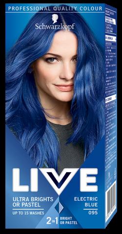 Live Color Vopsea de par semipermanenta 095 Electric Blue 1buc