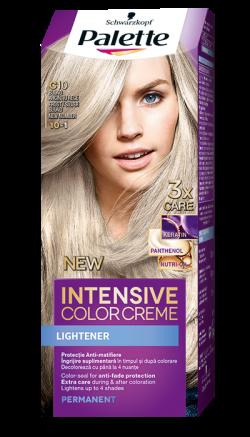 Palette Intensive Color Cream  vopsea de par permanenta C10  blond argintiu   1buc
