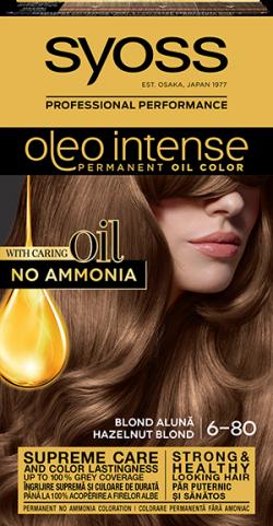 Syoss Color Oleo Intense vopsea de par permanenta fara amoniac 6-80 Blond Aluna 1buc