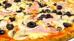 Pizza Prosciutto Cotto e Funghi image