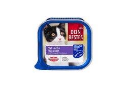 Dein Bestes hrana pentru pisici cu somon clasic 100g image