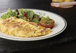 Omelette Jambon/Champignon/Fromage image