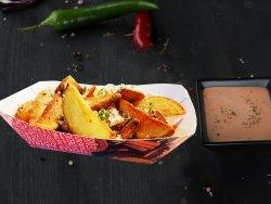 Cheesy fries parmesan image