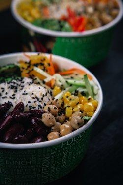 Veggie Poke Bowl image
