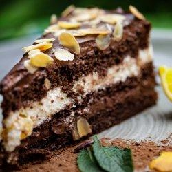 Torta al cioccolato e arancia image
