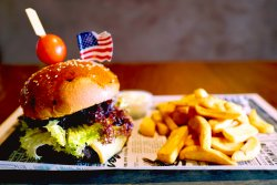 Buffalo burger image