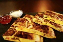 Cheesy quesadilla image