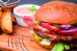 Hamburger clasic image