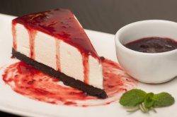 Cheesecake cu căpșuni image
