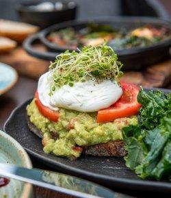 Avocado Poached Egg image