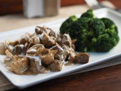 Vită cu ciuperci și brocoli image