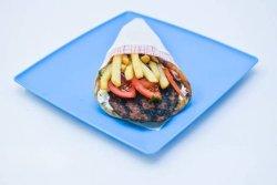 Bifteki pita image