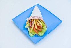 Gyros vegetarian image