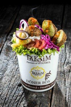 Veggie falafel box image