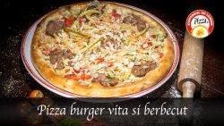 Pizza Burger de vită cu berbecuț image