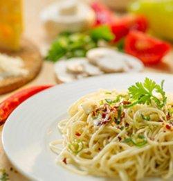 Spaghete aglio, olio, pepperoncini image