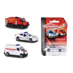 Masinute - Majorette machete metalice S.O.S cars -diverse modele