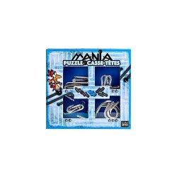 Set de 4 Puzzle-uri 3D - Mania Casse-Tetes - Blue