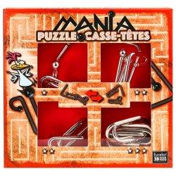 Set de 4 Puzzle-uri 3D - Mania Casse-Tetes - Red